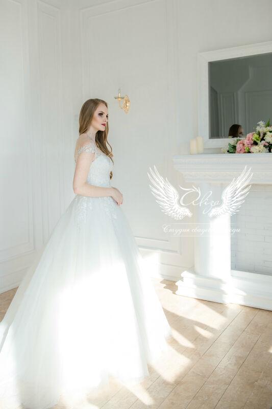 Свадебное платье напрокат ALIZA Свадебное платье Leila - фото 4