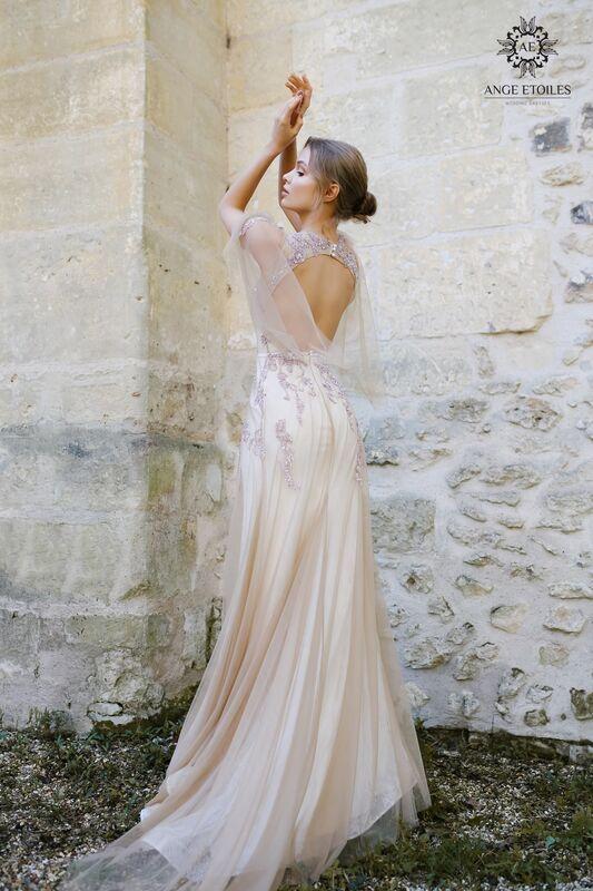 Свадебный салон Ange Etoiles Свадебное платье AEriality Collection Eva - фото 3
