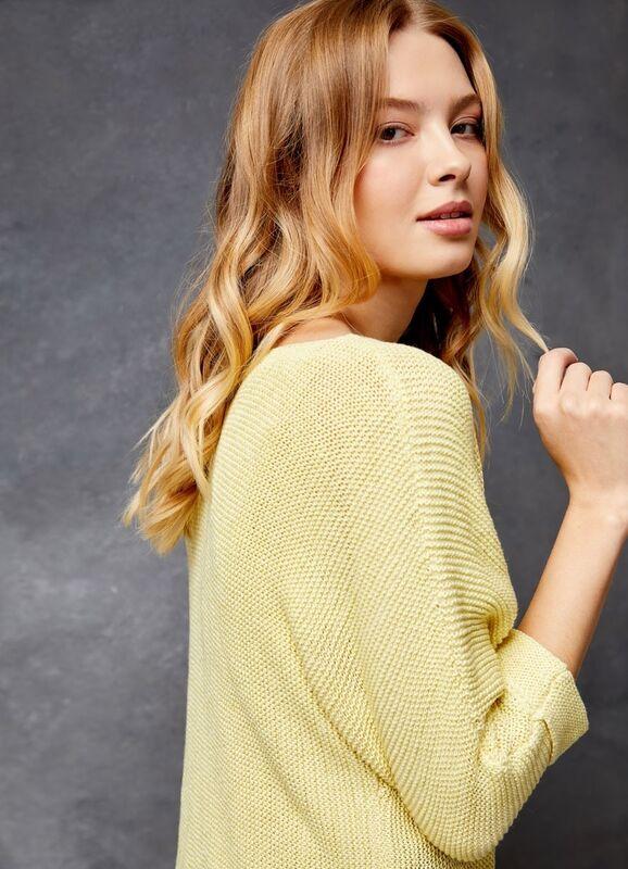 Кофта, блузка, футболка женская O'stin Джемпер структурной вязки LK4U31-33 - фото 3