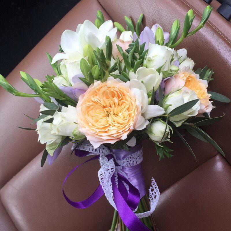 Магазин цветов Lia Букет «Азарт» - фото 1
