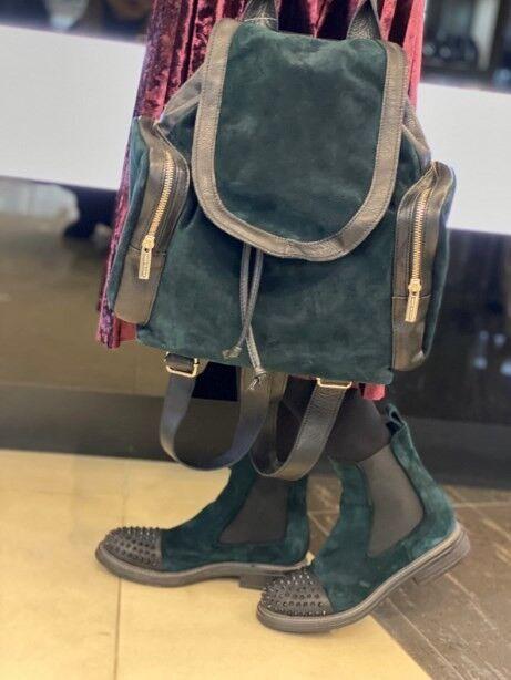 Обувь женская Fruit Ботинки женские замша - фото 2