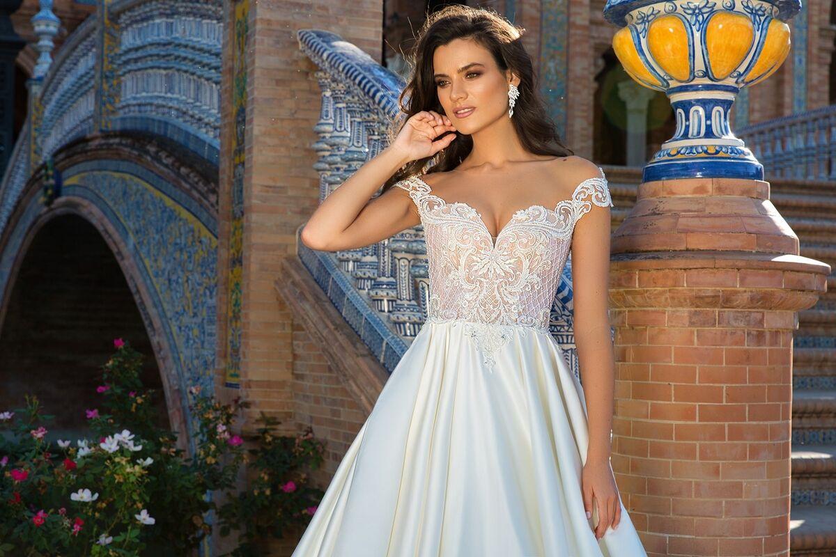 Свадебный салон Crystal Платье свадебное Isabel - фото 2
