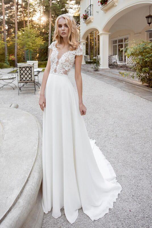Свадебное платье напрокат Cosmobella Свадебное платье Mersout - фото 1