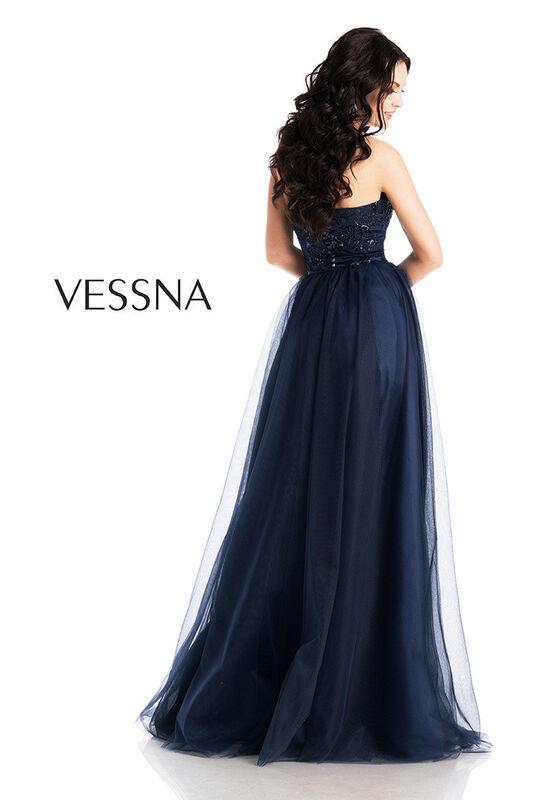 Вечернее платье Vessna Топ и Юбка длинная арт.1265 из коллекции VESSNA NEW - фото 2