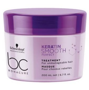 Уход за волосами Schwarzkopf BC Keratin Smooth Perfect Маска для гладкости волос - фото 1