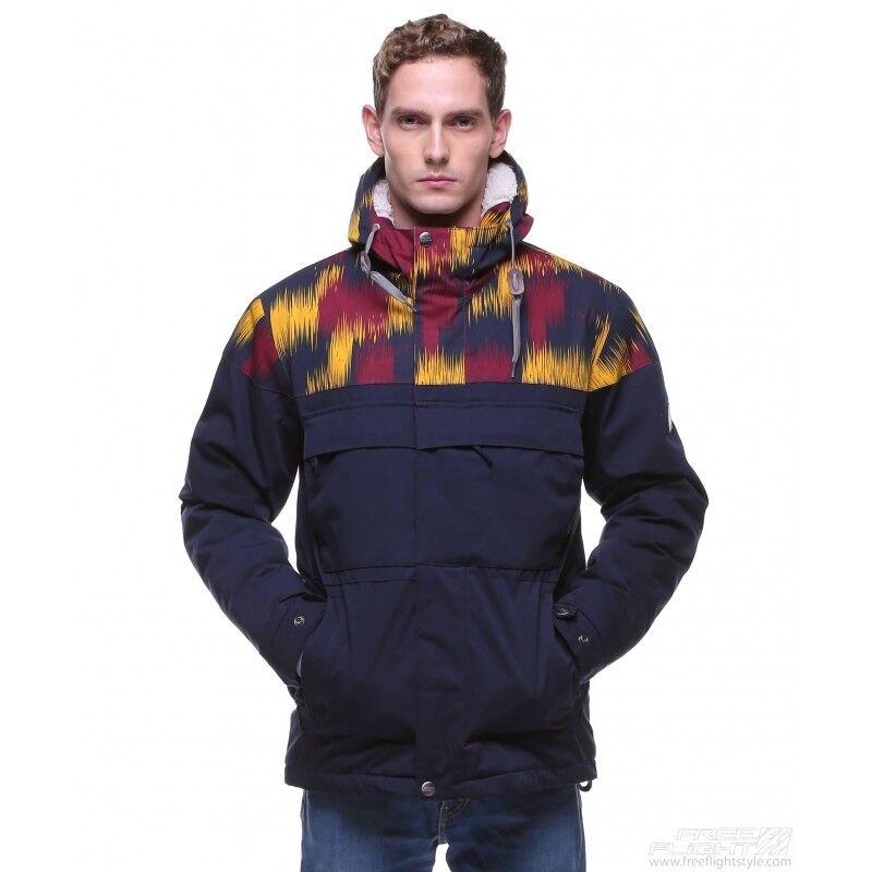 Спортивная одежда Free Flight Мужская куртка Bluff на меху Navy - фото 1