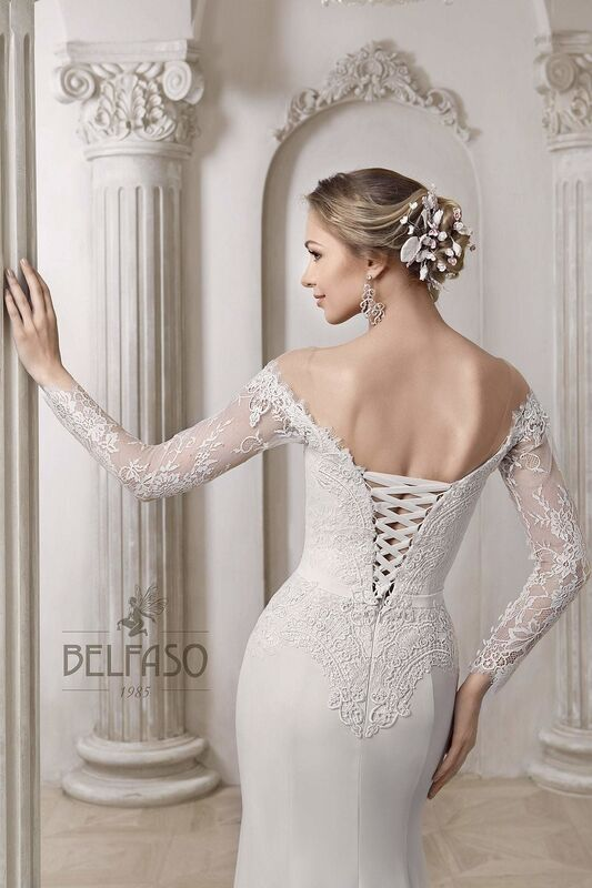 Свадебное платье напрокат Belfaso Платье свадебное Shantolie - фото 4