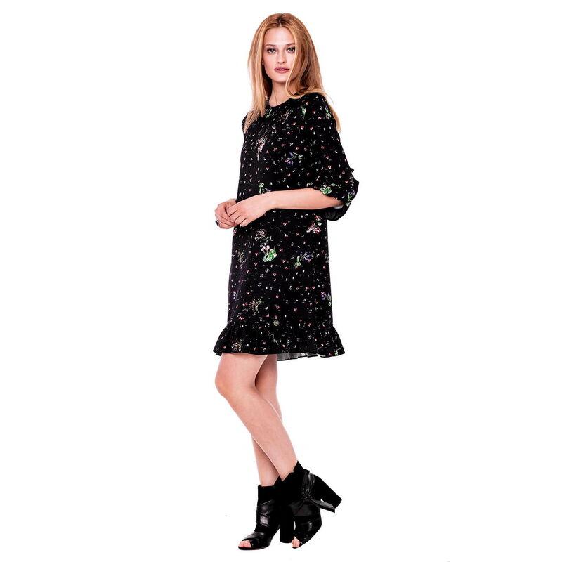 Платье женское L'AF Платье Arize 39YL (чёрное) - фото 1