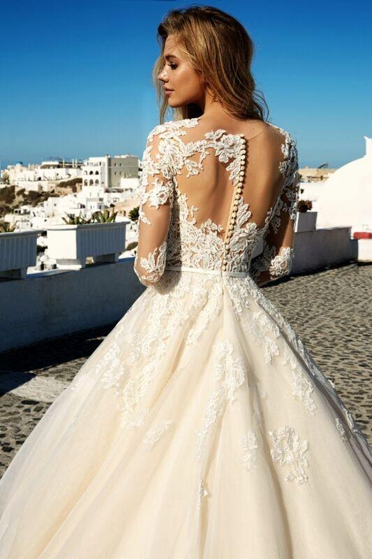 Свадебное платье напрокат Eva Lendel Платье свадебное Allen - фото 3