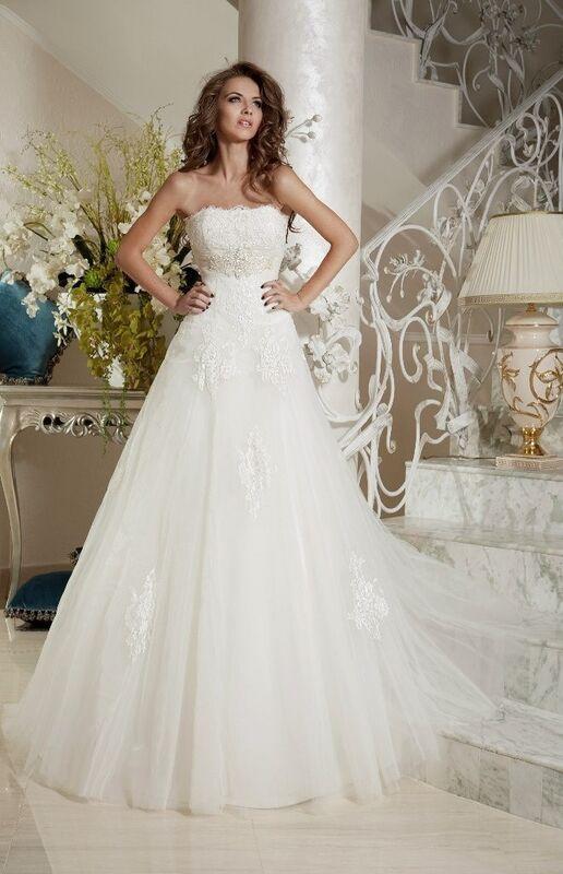 Свадебное платье напрокат Armonia Cвадебное платье Milana - фото 1