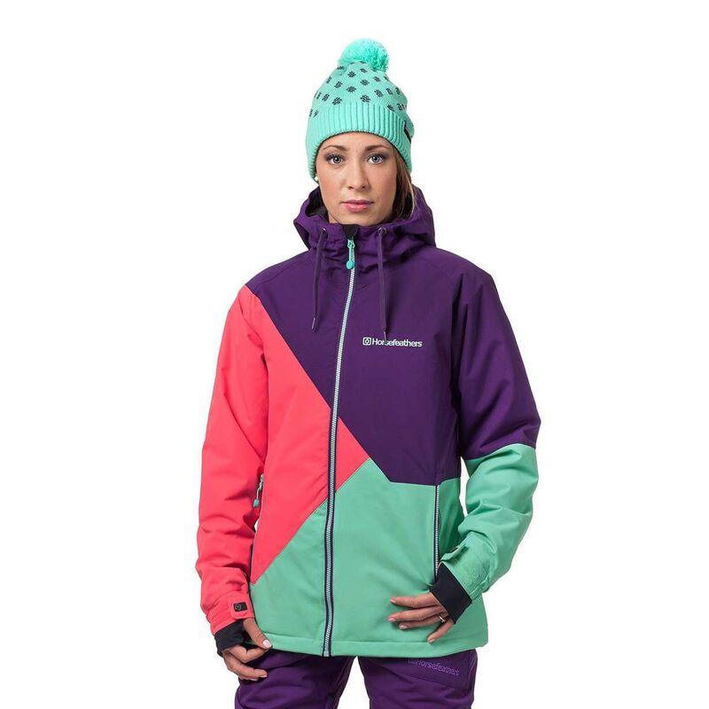 Спортивная одежда Horsefeathers Сноубордическая куртка Veronika 1516 фиолетовый - фото 1
