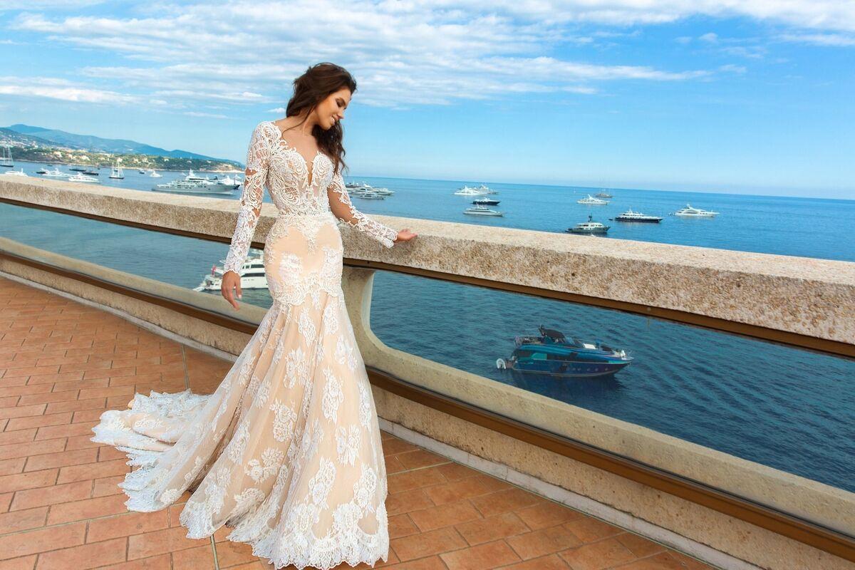Свадебное платье напрокат Crystal Свадебное платье Rian - фото 5