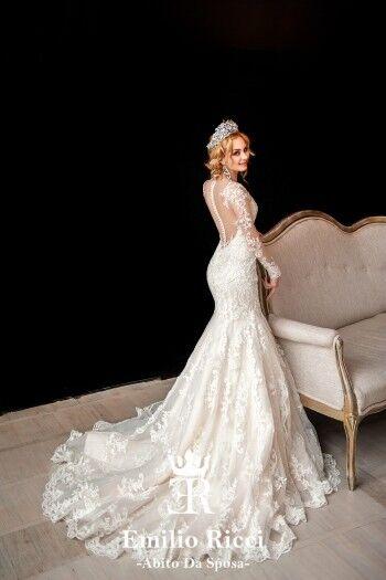 Свадебное платье напрокат City Bride Свадебное платье Emilio Ricci 1664 - фото 1