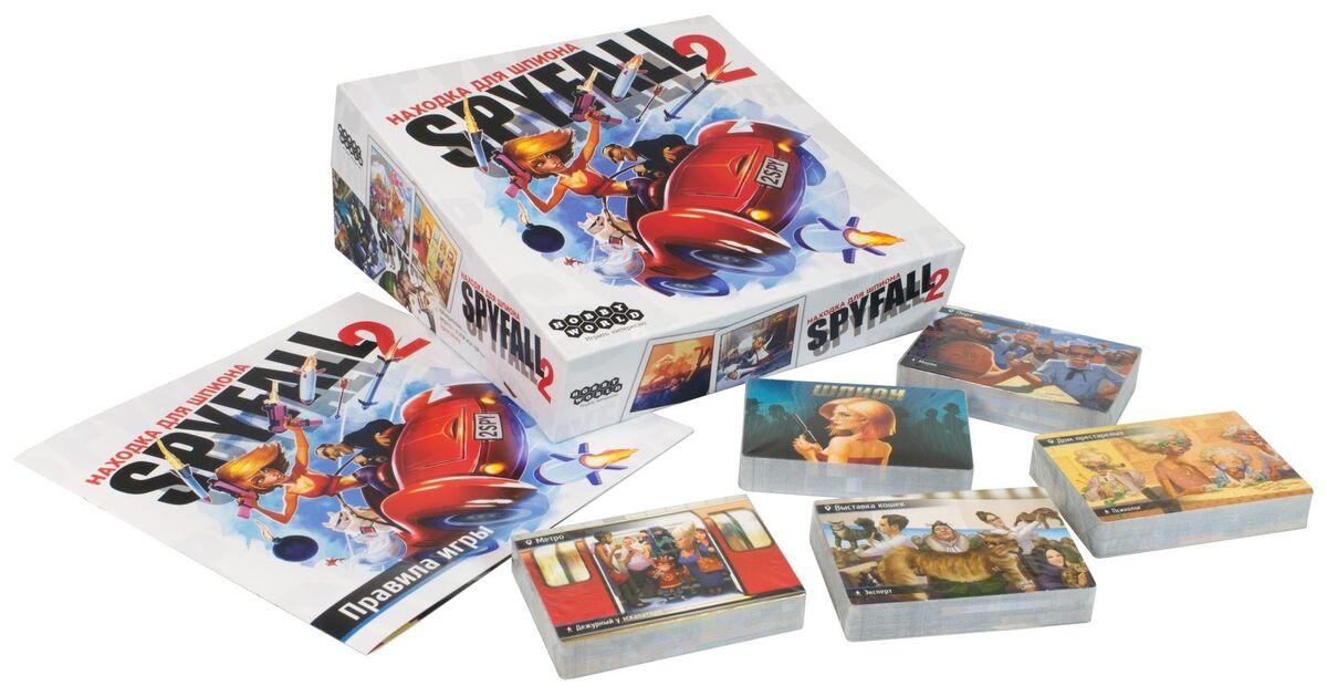 Магазин настольных игр Hobby World Настольная игра «Находка для шпиона 2» - фото 3
