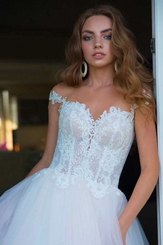 Свадебное платье напрокат Rafineza Свадебное платье Enrica напрокат - фото 1