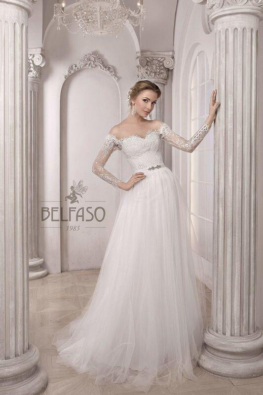 Свадебное платье напрокат Belfaso Платье свадебное Shantolie - фото 6
