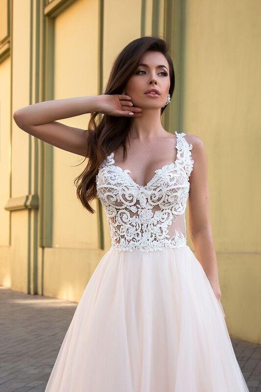 Свадебное платье напрокат Ida Torez Cassis Cornuta - фото 2