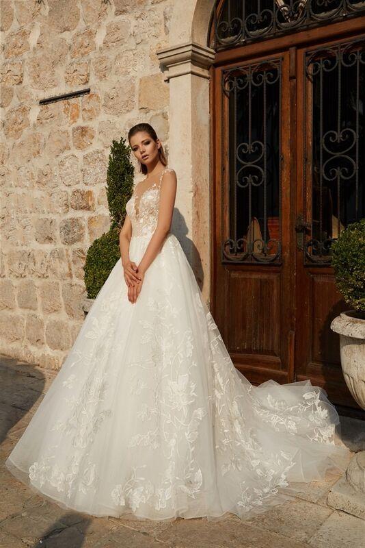 Свадебное платье напрокат Armonia Свадебное платье  Aphrodite - фото 1