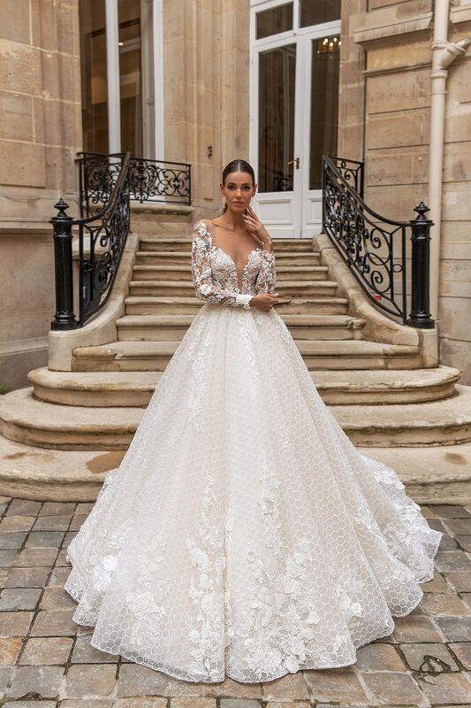 """Свадебное платье напрокат ALIZA свадебное платье """"Jullietty"""" - фото 1"""