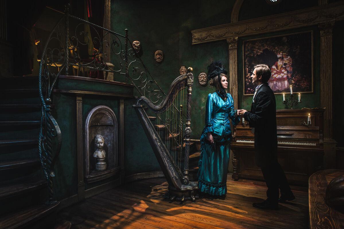 Квест Клаустрофобия Квест «Призрак оперы» на 4 чел. - фото 2