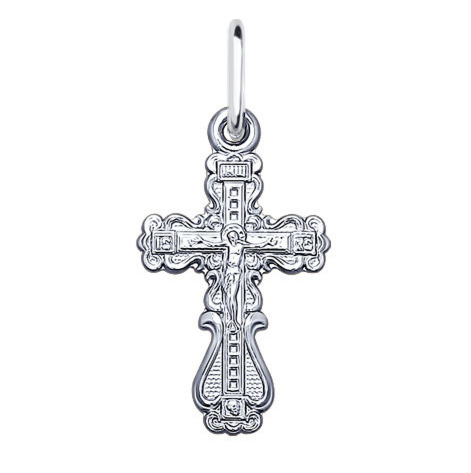 Ювелирный салон Sokolov Крест из серебра 94120107 - фото 1