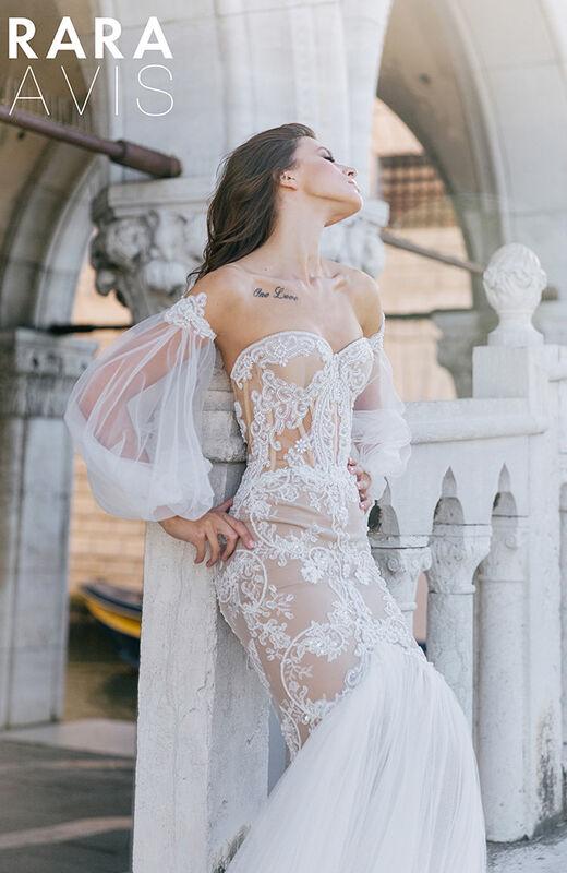 Свадебное платье напрокат Rara Avis Свадебное платье Flyteria - фото 1