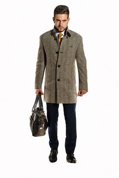 Верхняя одежда мужская Sezzar Пальто мужское 1 - фото 2