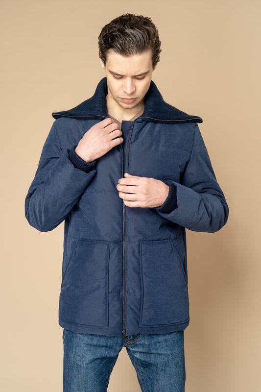 Верхняя одежда мужская Etelier Куртка мужская плащевая утепленная 4М-8523-1 - фото 4