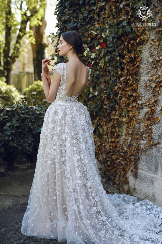 Свадебное платье напрокат Ange Etoiles Платье свадебное AEriality Collection Velari - фото 2