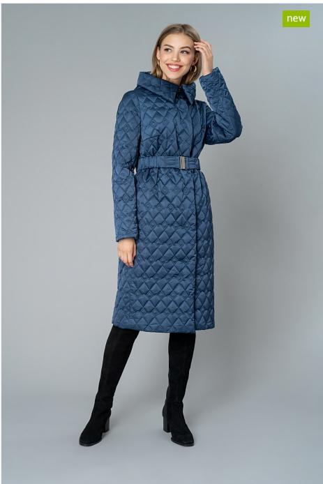 Верхняя одежда женская Elema Пальто женское плащевое утепленное 5-9193-1 - фото 1