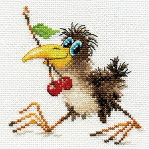 Товар для рукоделия Алиса Набор для вышивания «Вороненок» - фото 1