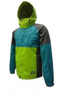 Спортивная одежда Free Flight Мужская мембранная горнолыжная куртка салатовая - фото 1