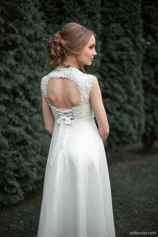 Свадебное платье напрокат Артемида Свадебное платье Kristina - фото 1