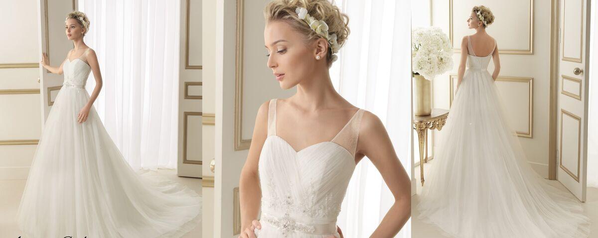 Свадебное платье напрокат Rosa Clara Платье свадебное Eloisa - фото 2