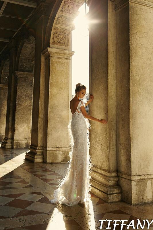 Свадебный салон Bonjour Galerie Свадебное платье Tiffani из коллекции La Douceur - фото 4