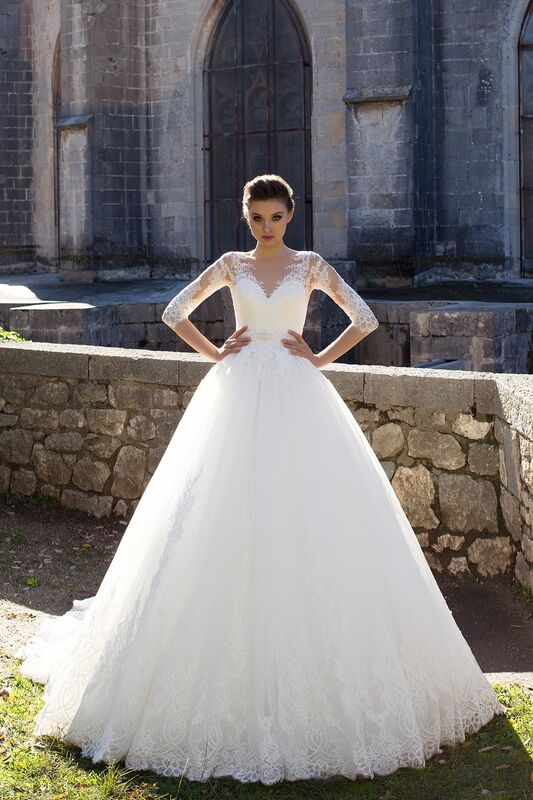 Свадебный салон Bonjour Galerie Свадебное платье «Caprice» из коллекции LA SENSUALITE - фото 1