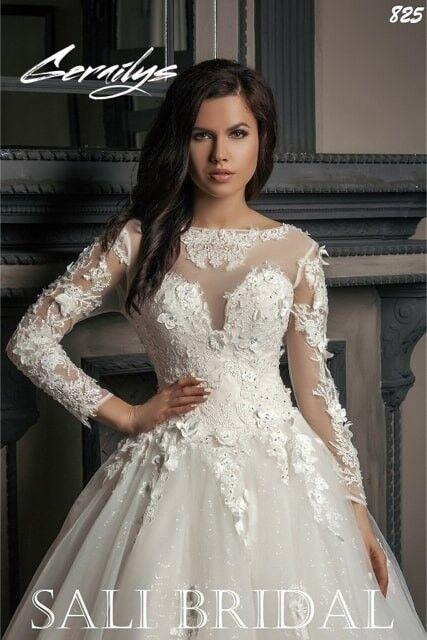 Свадебный салон Sali Bridal Свадебное платье 825 - фото 1