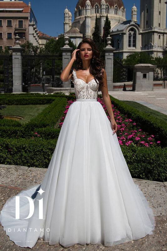 Свадебное платье напрокат Diantamo Платье свадебное Riccarda - фото 1