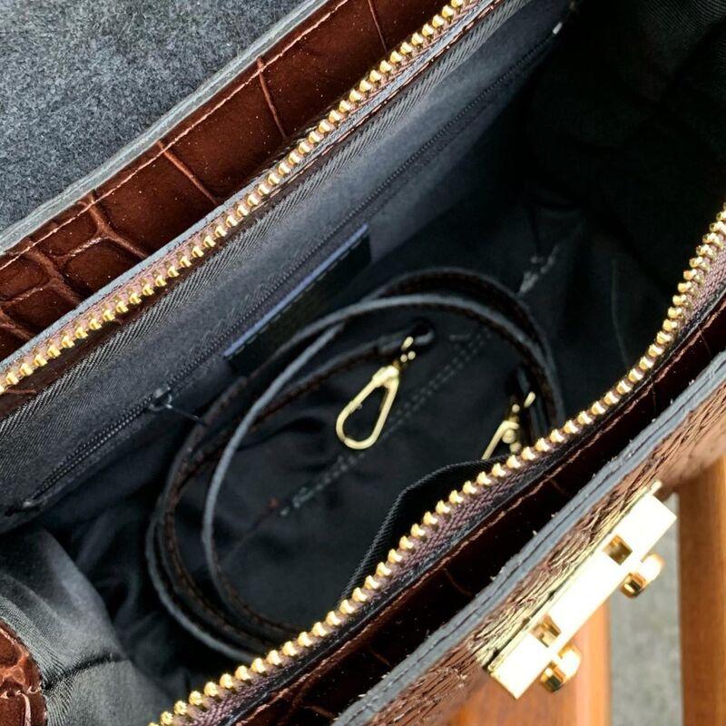 Магазин сумок Vezze Кожаная женская сумка C00538 - фото 2