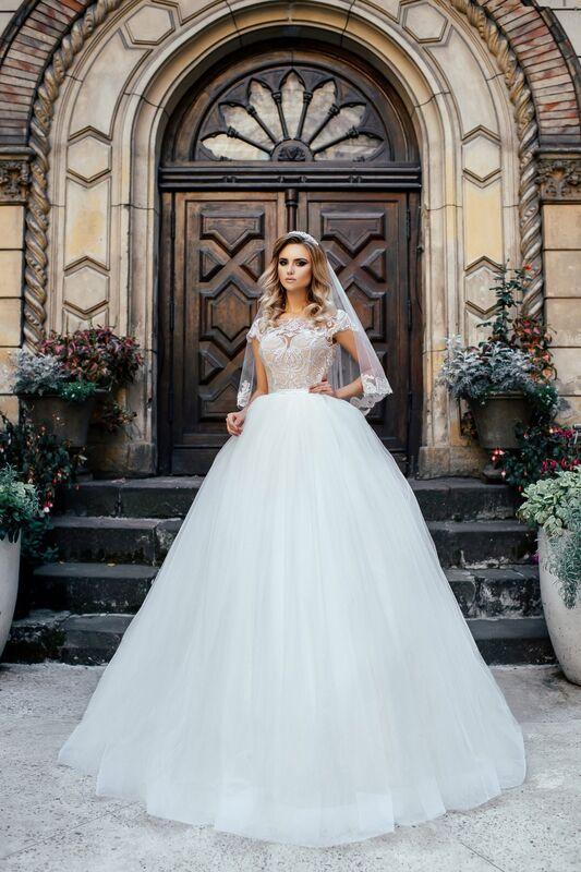 Свадебное платье напрокат Nicole Платье свадебное Odri - фото 1