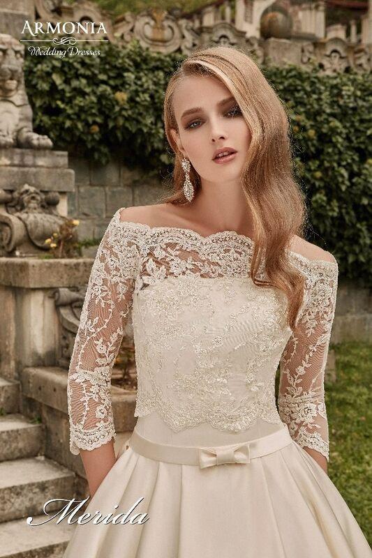 Свадебное платье напрокат Armonia Свадебное платье Merida - фото 2