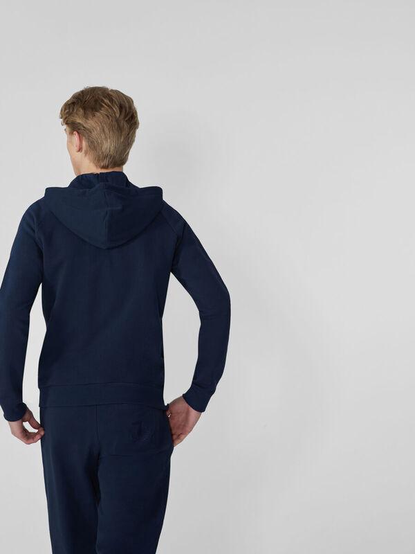 Кофта, рубашка, футболка мужская Trussardi Толстовка мужская 52F00104-1T003820 - фото 2