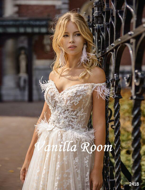 Свадебное платье напрокат Vanilla room Платье свадебное Люсиль - фото 1