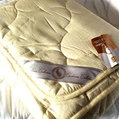 Подарок Голдтекс Элитное всесезонное кашемировое одеяло  220х240  1088 - фото 1