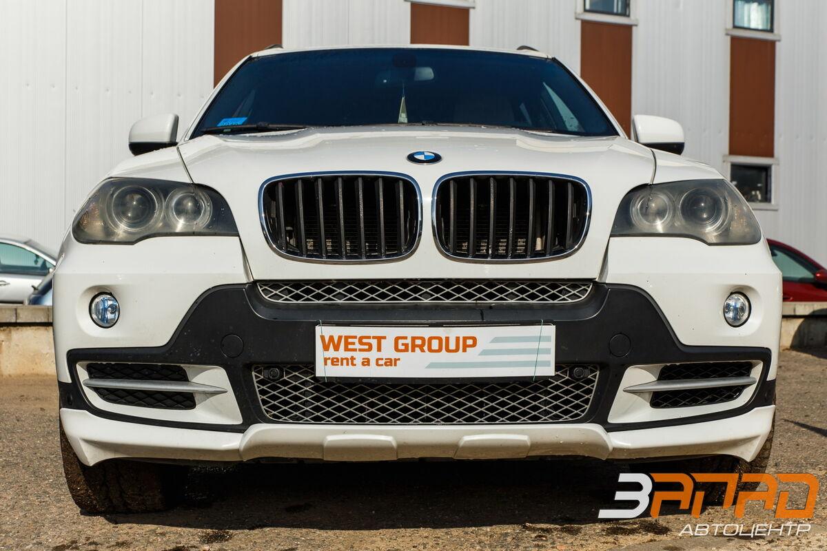 Прокат авто BMW X5 (E70 кузов) 2009 белый - фото 2