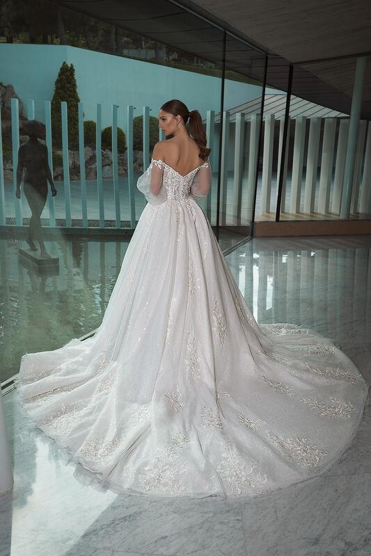 Свадебный салон Crystal Свадебное платье Cherry - фото 2