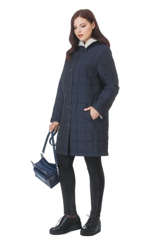 Верхняя одежда женская Elema Пальто женское плащевое утепленное Т-56742 - фото 1