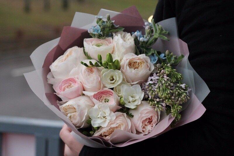 Магазин цветов Cvetok.by Букет «Прикосновение нежности» - фото 1