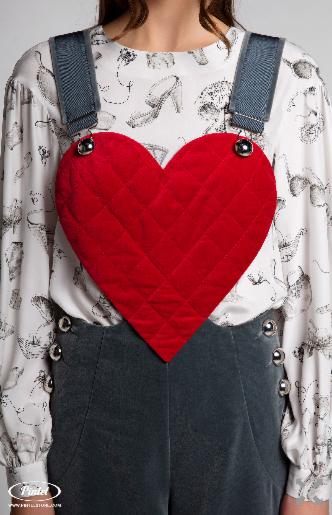 Брюки женские Pintel™ Комплект из блузы и комбинезона Lititso - фото 6