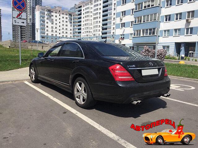 Прокат авто Mercedes-Benz w221 S-class long - фото 4